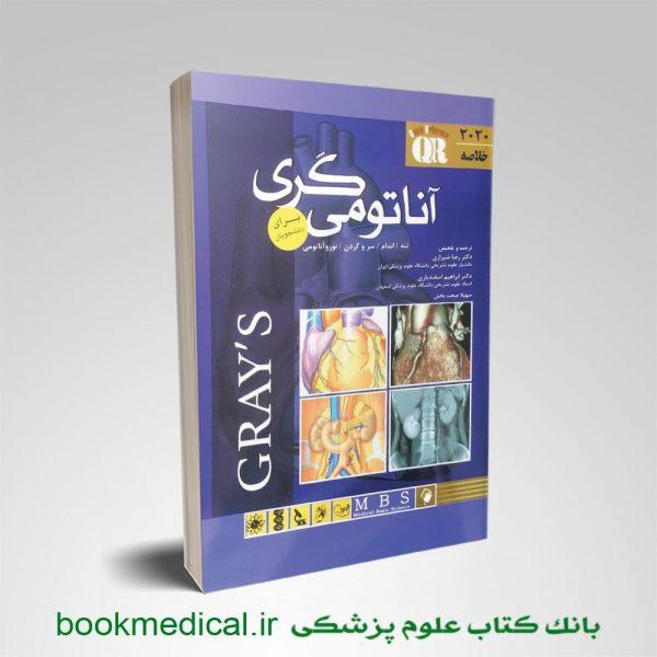 کتاب خلاصه آناتومی گری رضا شیرازی